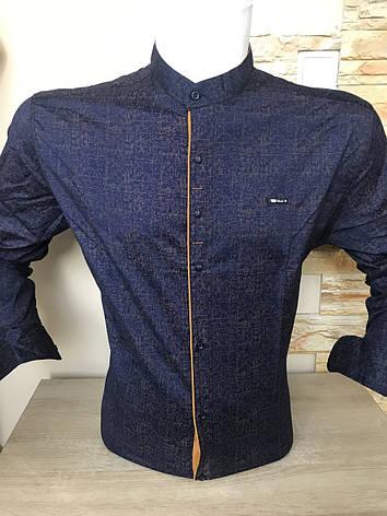 Рубашка длинный рукав Paul Jack стойка, фото 2
