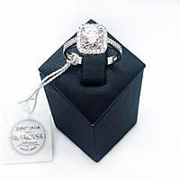 Кольцо Beauty Bar из серебра с камнями Swarovski (размеры 17 и 17,5)