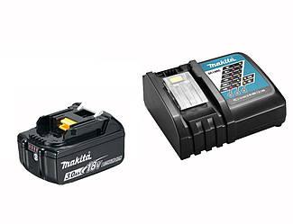 Набір акумулятора та зарядного пристрою LXT (BL1830B, DC18RC), 191A24-4, CN, 0, PR, Makita