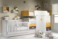 Детская кровать для двоих детей: новорожденного и взрослого ДМ 703