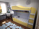 """Дитяча двох'ярусна ліжко горище дм147 """"Ріо"""", фото 2"""