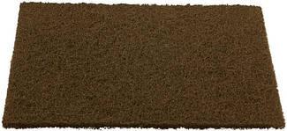 Лист - нетканный абразивный материал 152 x 229мм KORUND NPA400 coarse коричневий (грубый)