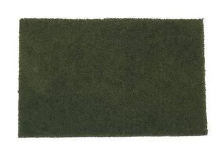 Лист - нетканный абразивный материал 152 x 229мм KORUND NPA400 medium темно-зеленый (очень деликатный)