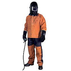 Костюм сварщика, кожа + Proban, XL (куртка + брюки) MOST