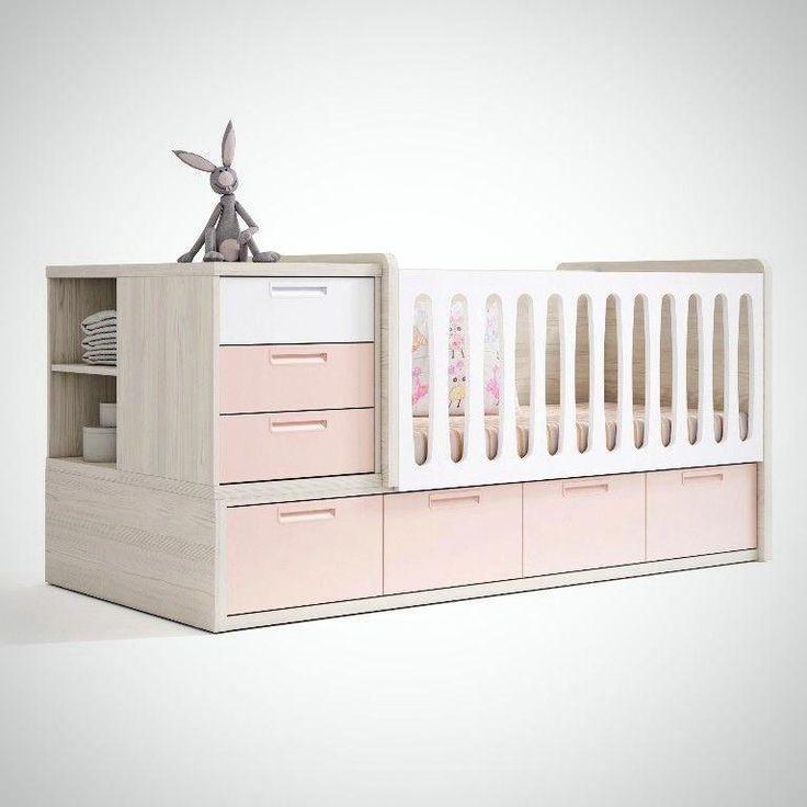 Дитяча комбо-ліжко для новонароджених ДМ 506