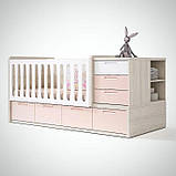 Дитяча комбо-ліжко для новонароджених ДМ 506, фото 2