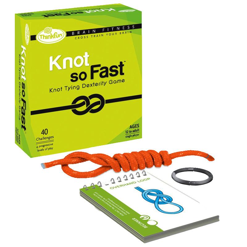 Настольная игра головоломка | Быстрые узлы | Knot So Fast | ThinkFun (USA)