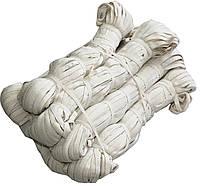 Резинки бельевые (100m) бежевые, тесьма эластичная хлопок 100%