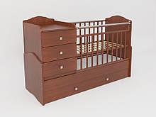 Детская кроватка для младенца Дм 040