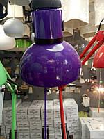 Лампа настольная фиолетовая 60вт, фото 1