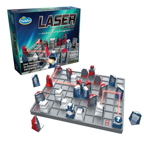 Настольная игра | Лазерные шахматы | Лазерні шахи | Laser Chess | ThinkFun (USA)