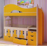 Кровать для двоих детей: новорожденного и взрослого ДМ 700