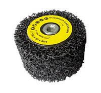 Круг шлифовальный лепестковый 100х50хМ14, чашка, с нетканого абразивного материала, EXTRA COARSE, 6000об/хв, Glob