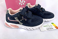 Детские кроссовки светящиеся на девочку Bi & Ki 27-32
