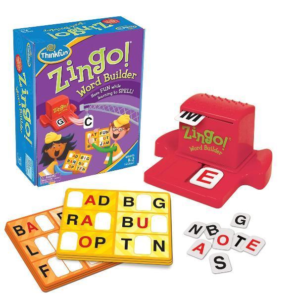 Игра Зинго Строитель слов | ThinkFun Zingo Word Builder