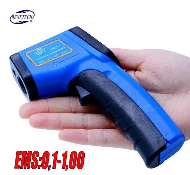 Пирометр Benetech GM321, лазерный пирометр (для промышленности) ✸от -50 до +380°С✸ ✔ВЫБОР ТИПА МАТЕРИАЛА!!! ✔