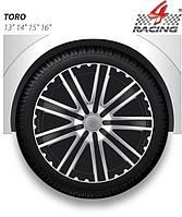 Колпаки Argo R14 TORO black silver (черно-серебрян.) (ARGO)
