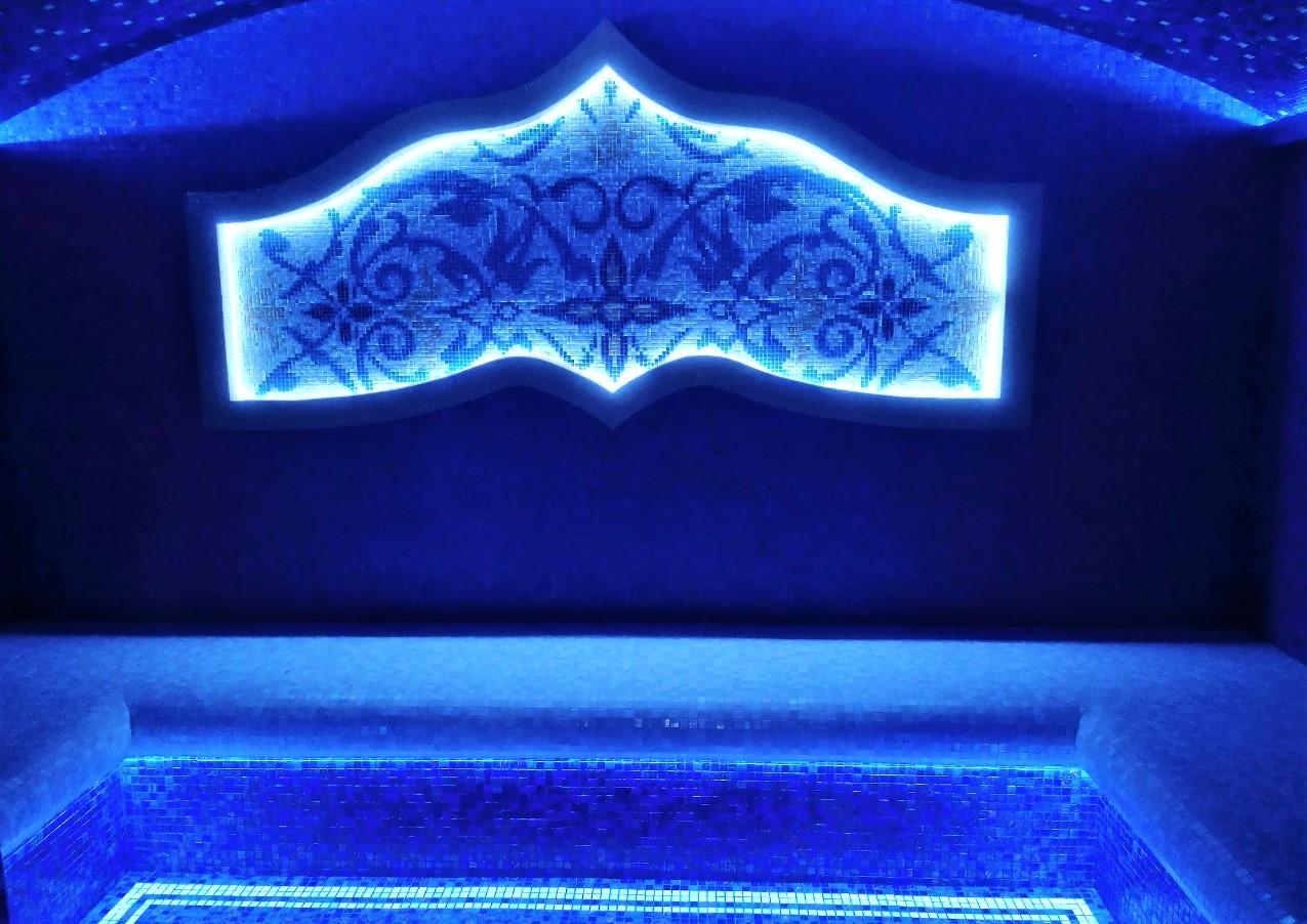 Хамам в классическом стиле 3,95м*2,6м*2,5м под ключ. Проектирование, строительство