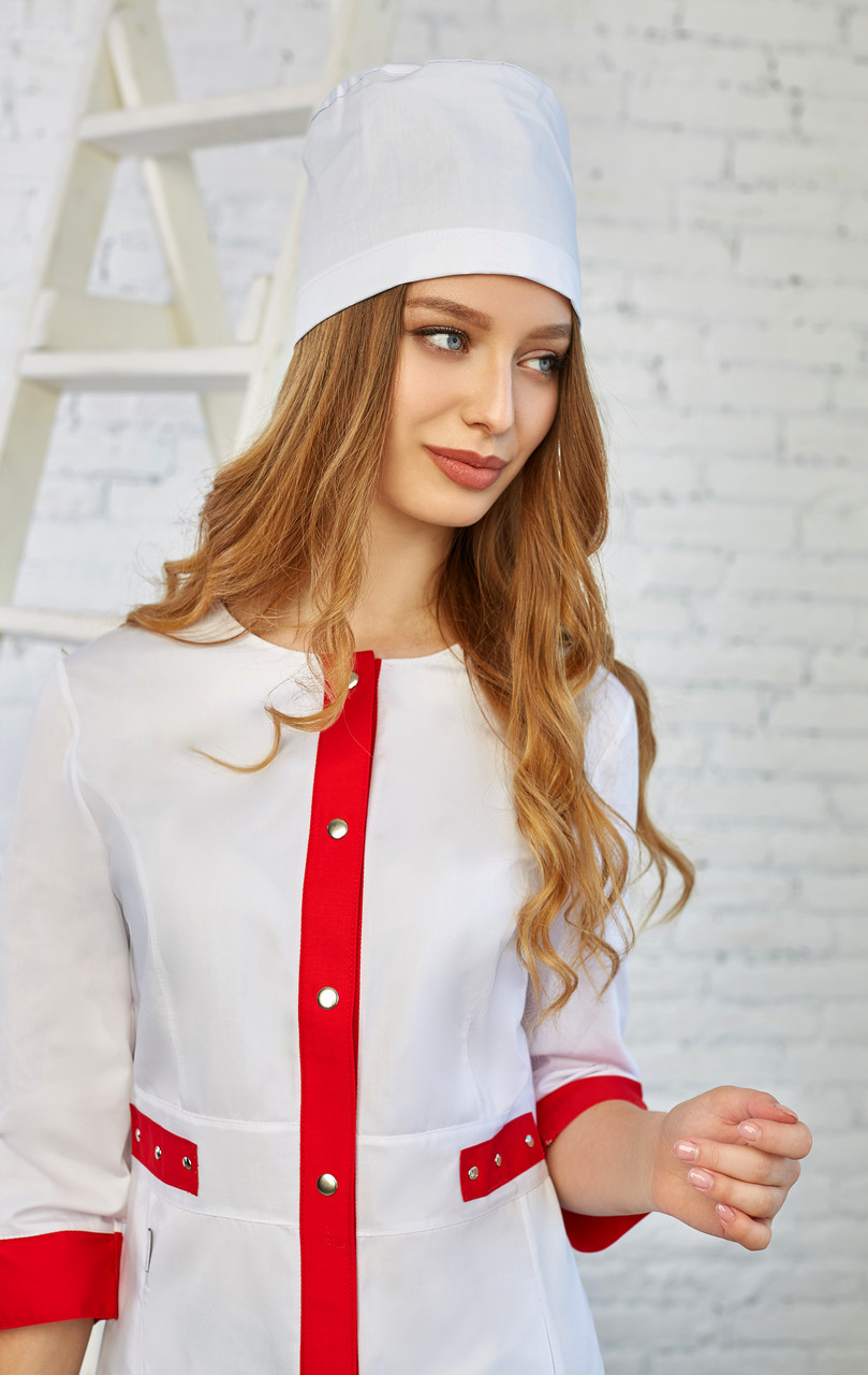 Женская медицинская шапочка - Жіноча медична шапочка