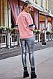 Яркая женская толстовка 1229.3752 персиковый, фото 5