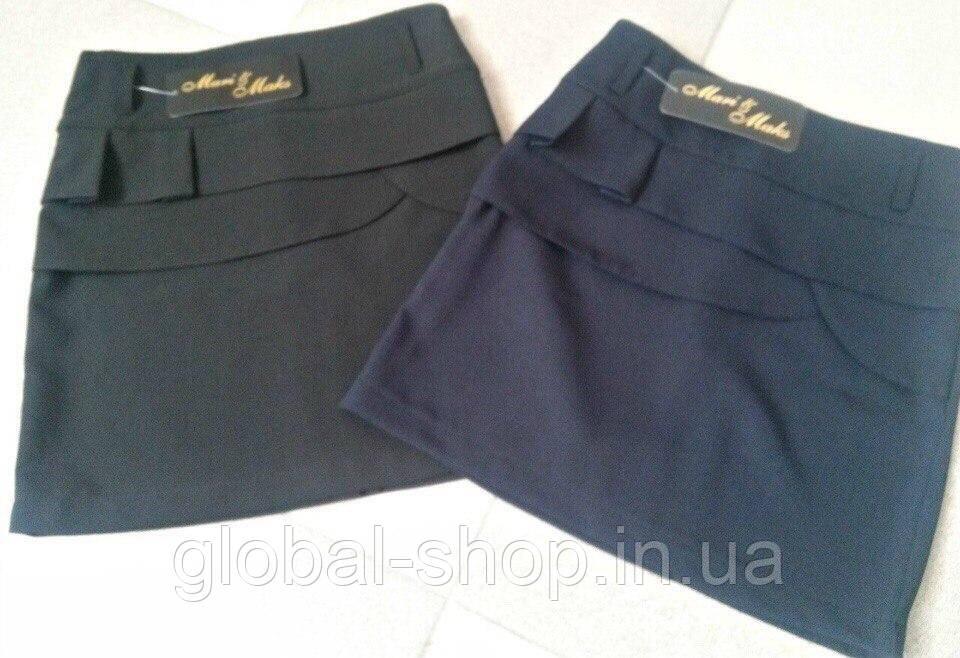 Школьная юбка для девочки , (возрастная категория с 6 до 9 лет) , (рост 122-128-134-140  ), код 0558