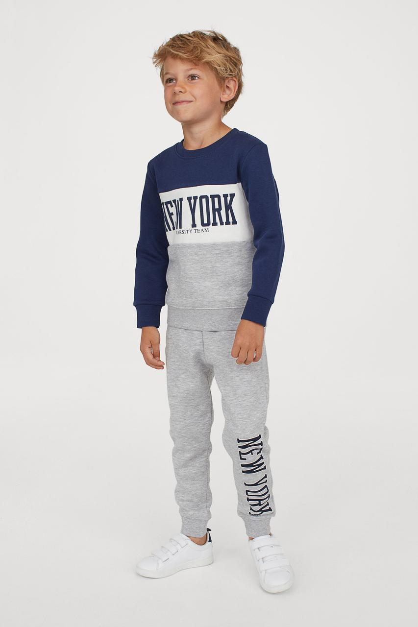Спортивный костюм для мальчика H&M Швеция Размер 122-128