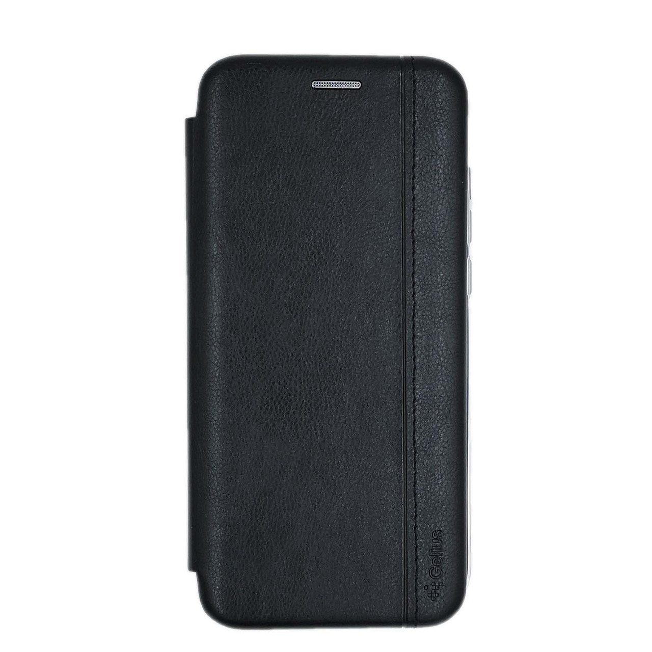 Чехол книжка для Xiaomi Mi A3 | Xiaomi CC9e боковой с отсеком для визиток Gelius, Натуральная кожа, черный
