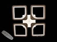 Люстра светодиодная S8060/4 white/black 75w диммируемая