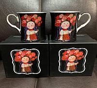 Набор из 2 чашек Украиночка 280 мл от Гапчинской 924-440-2, фото 1