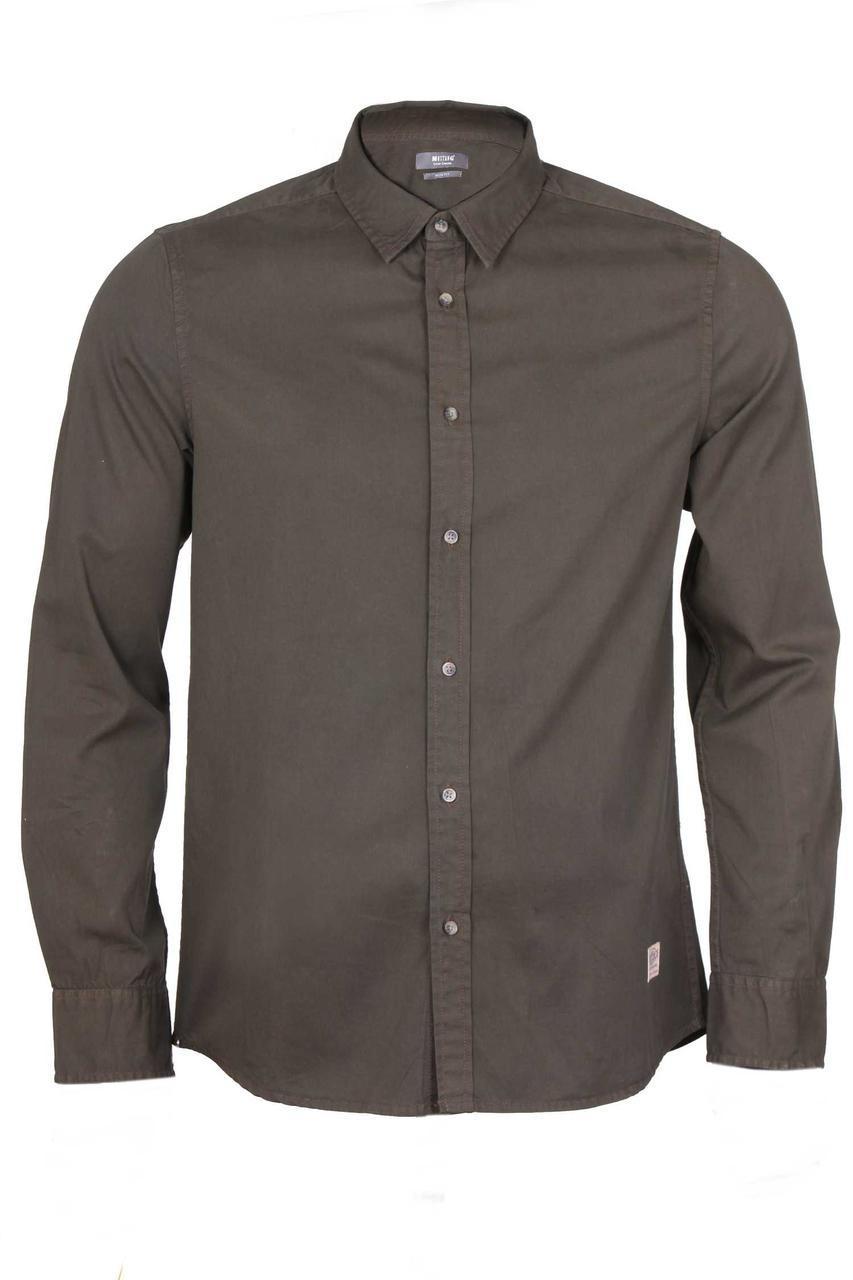 Мужская рубашка с длинным рукавом Canteen shirt от Mustang jeans в размере M