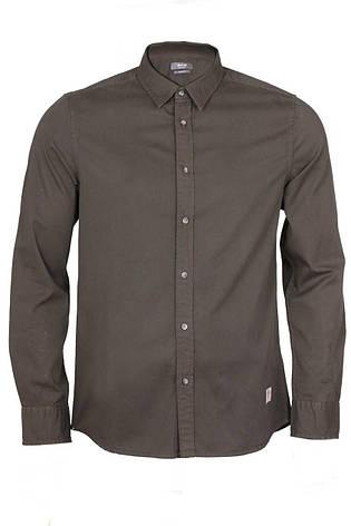 Мужская рубашка с длинным рукавом Canteen shirt от Mustang jeans в размере M, фото 2