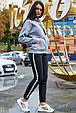 Модная толстовка с капюшоном 1230.3744 серый, фото 3
