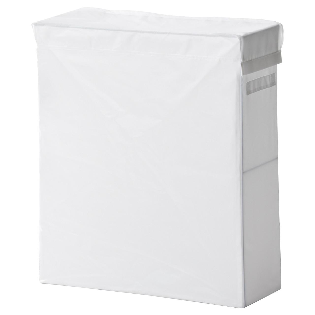 Кошик для білизни IKEA SKUBB білий 902.240.48