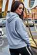 Модная толстовка с капюшоном 1230.3744 серый, фото 4