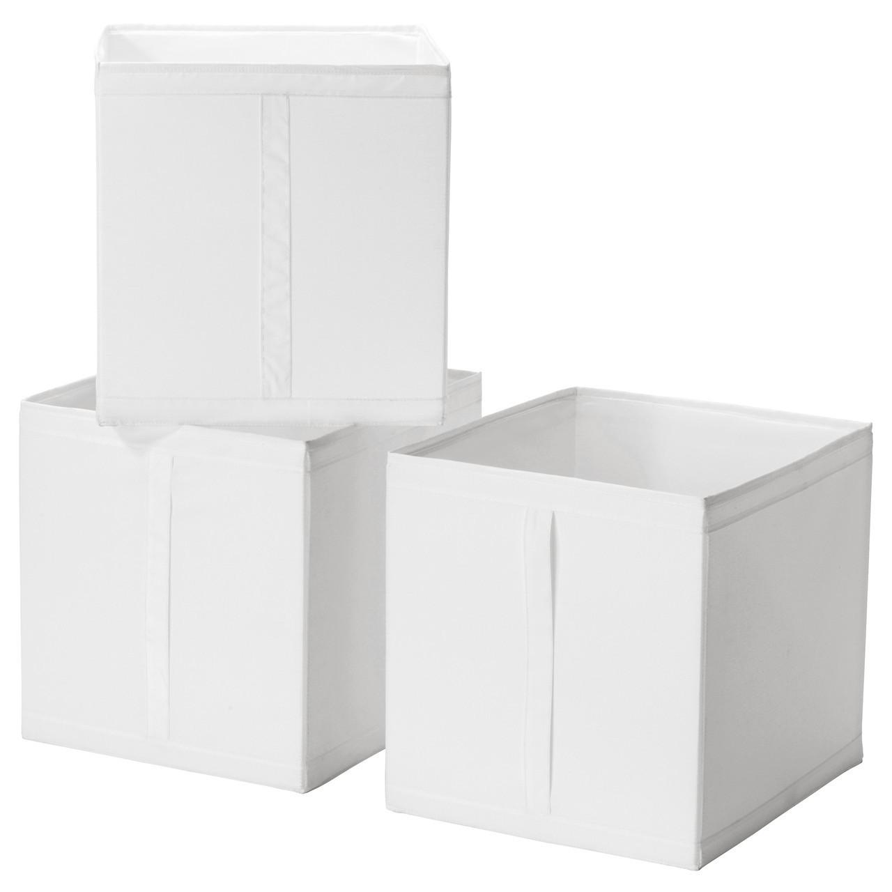 SKUBB Коробка, білий 001.863.95