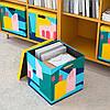 Коробка с крышкой IKEA TJENA 30x30x30 см см желтый 604.341.37, фото 3