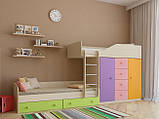 "Дитяча двох'ярусна ліжко горище дм148 ""Неаполь"", фото 2"