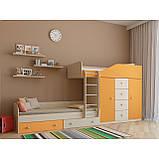 "Дитяча двох'ярусна ліжко горище дм148 ""Неаполь"", фото 3"
