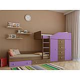 "Дитяча двох'ярусна ліжко горище дм148 ""Неаполь"", фото 4"