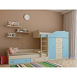 "Дитяча двох'ярусна ліжко горище дм148 ""Неаполь"", фото 6"