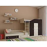 "Дитяча двох'ярусна ліжко горище дм148 ""Неаполь"", фото 7"