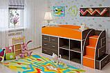 Детская двухъярусная кровать чердак ДМО 52, фото 2