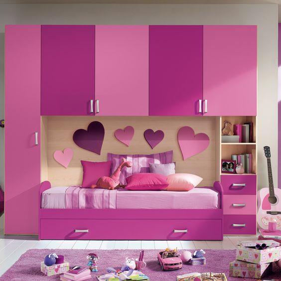 Дитяче ліжко стінка ДМ 724