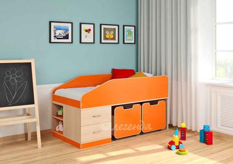 Детская двухъярусная кровать чердак ДМО 69