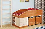 Детская двухъярусная кровать чердак ДМО 69, фото 2