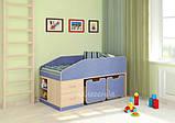 Детская двухъярусная кровать чердак ДМО 69, фото 4
