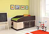 Детская двухъярусная кровать чердак ДМО 69, фото 8