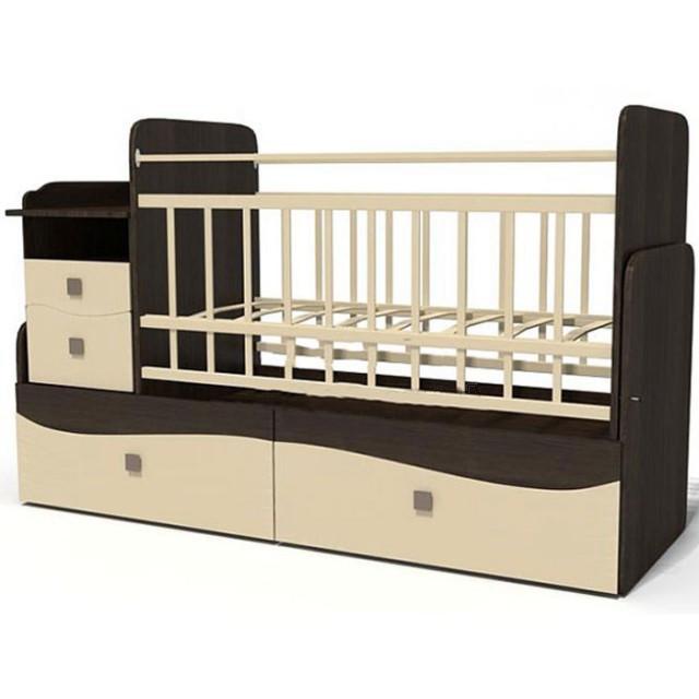 Дитяче ліжечко для немовляти ДМ-042