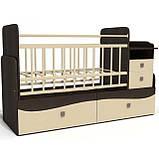 Дитяче ліжечко для немовляти ДМ-042, фото 3