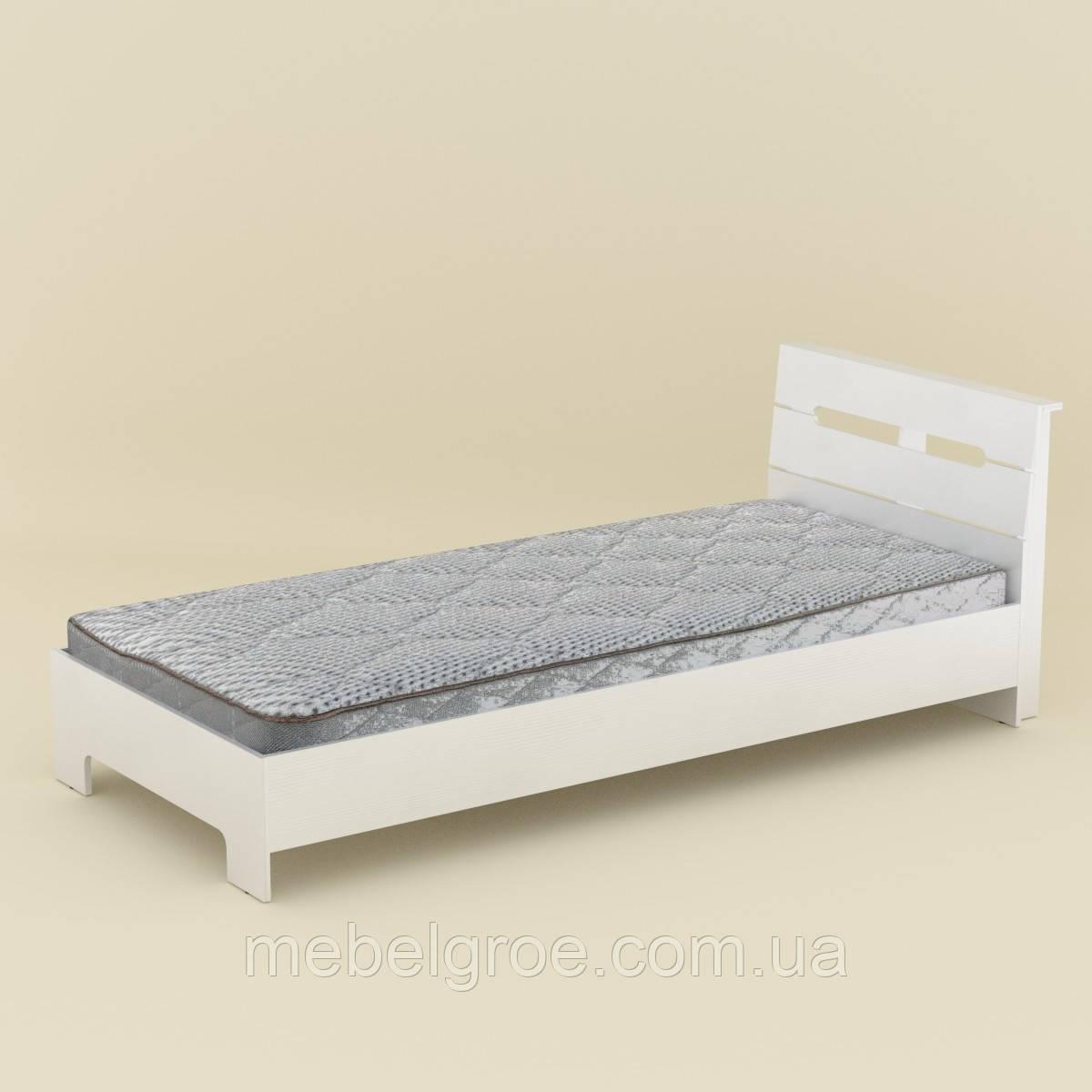 Односпальная кровать Стиль 90 тм Компанит